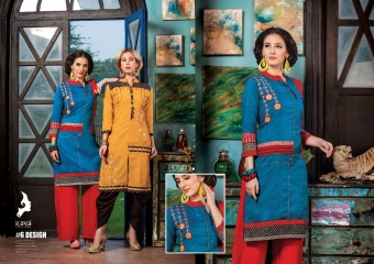 KAYA PONDS SOUTH COTTON KURTI WHOLESALER SURAT 6