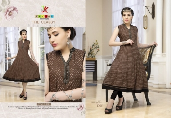 KERSOM KISS MISS PURE HEAVY RAYON KURTI WHOLESALE KURTI DEALER 1005