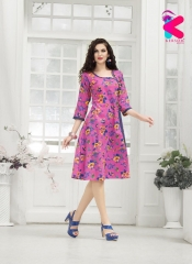 KERSOM VIRONICA KURTI COLLECTION ONLINE WHOLESALER DEALER SURAT 1002