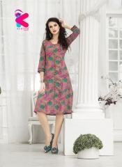 KERSOM VIRONICA KURTI COLLECTION ONLINE WHOLESALER DEALER SURAT 1008