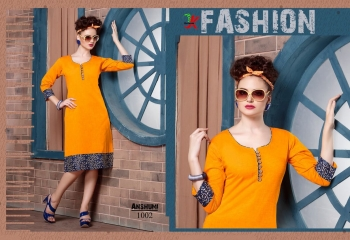 KESROM ANSHUMI SOUTH COTTON KURTI COLLECTION WHOLESALE 1002