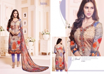 LAVINA VOL 67 COTTON SATIN DIGITAL SALWAR KAMEEZ WHOLESALE 67001