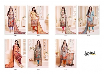 LAVINA VOL 67 COTTON SATIN DIGITAL SALWAR KAMEEZ WHOLESALE T