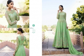 LEO AAFREEN ROYAL GEORGETTE EMBROIDERED SALWAR KAMEEZ WHOLESALE SURAT 11009 A