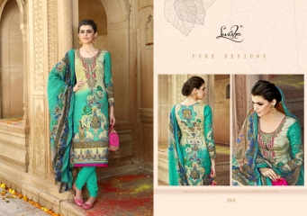 LEVISHA ISHIKA VOL 2 SATIN COTTON SALWAR KAMEEZ WHOLESALE 2016