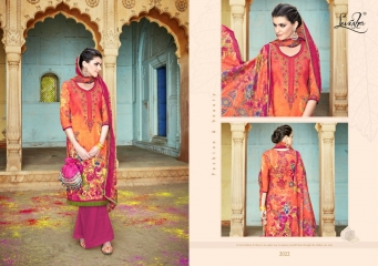 LEVISHA ISHIKA VOL 2 SATIN COTTON SALWAR KAMEEZ WHOLESALE 2022