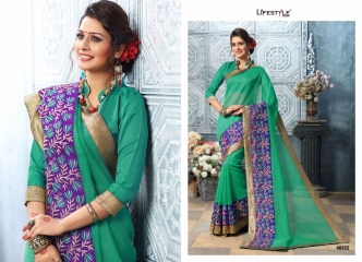 LIFESTYLE BY APPLIC COTTON VOL 5 CATALOGUE COTTON WEAVING SAREES WHOLESALE SURAT 48322