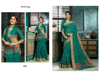 LIFESTYLE MUNNAR COTTON SAREES WHOLESALE PRICE SURAT 47302