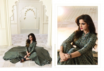 LT FABRICS NITYA FASHION TRENDY WEAR GOWN COLLECTION WHOLESALE PRICE SURAT 1602 B