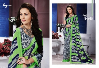 LT FABRICS ZARA 19 GEORGETTE PRINTS SAREES COLLECTION WHOLESALE 25016
