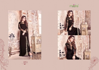 MAISHA MASKEEN COLOR CARNIVAL D.NO 4207 WHOLESALE 4207 A B
