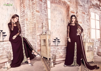 MAISHA MASKEEN COLOR CARNIVAL D.NO 4207 WHOLESALE 4207 B A