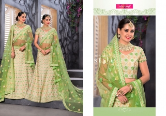 MINTORSI BRIDAL BEAUTY LEHENGA COLLLECTION WHOLESALER SURAT 3603