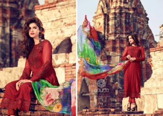 MOHINI FASHION AARYA PREMIUM COTTON SATIN SALWAR KAMEEZ WHOLESALE 301