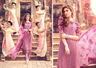MOHINI FASHION AARYA PREMIUM COTTON SATIN SALWAR KAMEEZ WHOLESALE 303