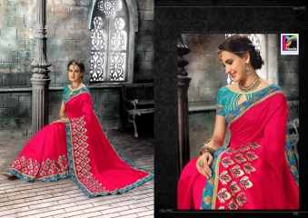PIKASHO FASHION MAGIC MIRROR VOL 3 DESIGNER SAREES WHOLESALER SURAT 2725