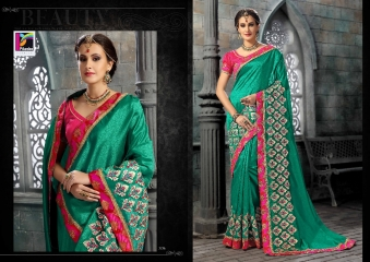 PIKASHO FASHION MAGIC MIRROR VOL 3 DESIGNER SAREES WHOLESALER SURAT 2726