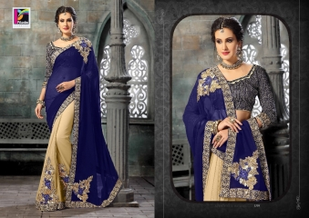 PIKASHO FASHION MAGIC MIRROR VOL 3 DESIGNER SAREES WHOLESALER SURAT 2729