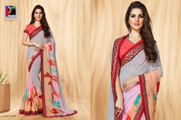 PIKASHO PRIYANKA FANCY SAREES WHOLESALE RATE SURAT 4002