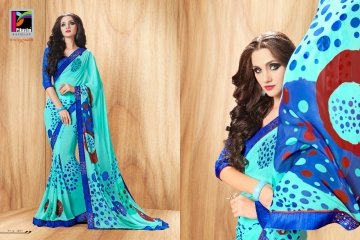 PIKASHO PRIYANKA FANCY SAREES WHOLESALE RATE SURAT 4007