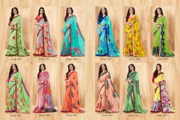 PIKASHO PRIYANKA FANCY SAREES WHOLESALE RATE SURAT T
