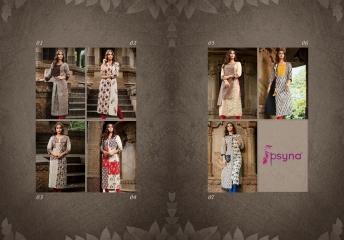 PSYNA PEHNAVA VOL 1 COTTON CAMRIC KURTI WHOLESALE SURAT T