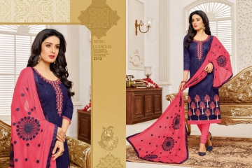 R R FASHION KASHMIRI BEAUTY VOL 7 COTTON SUITS WHOLESALE SURAT 2312