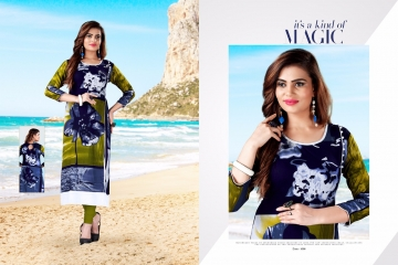 RAVI CREATION SANAYA REYON PRINT KURTI COLLECTION WHOLESALE 1008