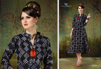 RELOAD VOL 4 BY VICTORRAIN CLOTHING CATALOGUE COTTON CASUAL WEAR KURTI 3013