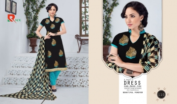 RISHABH NX JASMINE CHANDERI STRAIGHT SUITS WHOLESALE 110