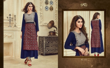 S4U BY SHIVALI FESTIVE SPECIAL KURTI COLLECTION BLOSSOM VOL 3 CATALOGUE WHOLESALE PRICE 110