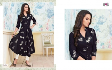 S4U SHIVALI BY FLORA VOL 5 DESIGNER WEAR KURTI COLLECTION WHOLESALE PRICE SURAT 508