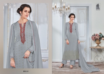 SAHIBA NOUR VO 9 GEORGETTE EMBROIDERY SUITS WHOLESALE 102