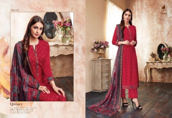 SAHIBA QUINCY COTTON SATIN SALWAR KAMEEZ WHOLESALE SURAT 05