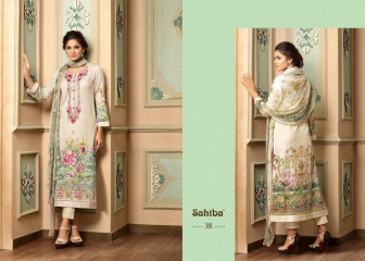 SAHIBA VARISHA COTTON SATIN SALWAR KAMEEZ WHOLESALE SURAT 305