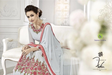 SAJAWAT CREATIONS ROLES VOL 9 DESIGNER SUITS WHOLESALE 744 B