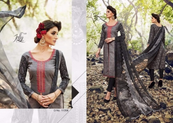 SARGAM NOOR LAWN COTTON EMBROIDERED SALWAR KAMEEZ WHOLESALE 11208