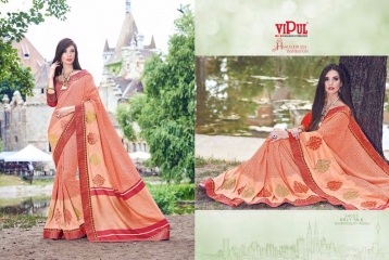 SERIES 34011 BY VIPUL FASHION CHILLI SILK SAREES DIWALI FESTIVAL COLLECTION WHOLESALE SURAT 19