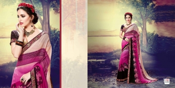 SHRAVIKA LIPSA GEORGETTE PRINTS SAREES CATALOGUE WHOLESALE PRICE 8088