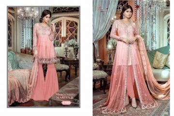 SHREE FAB MBROIDERED MARIYA B COLLECTION WHOLESALER SUPPLIER SURAT GUJARAT 1104