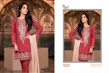 SHREE FAB MBROIDERED MARIYA B COLLECTION WHOLESALER SUPPLIER SURAT GUJARAT 1107