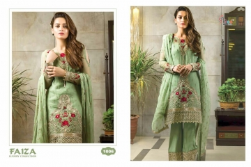 SHREE FABS FAIZA GEORGETTE WITH EMBROIDERY EXPORTER DEALER 1006
