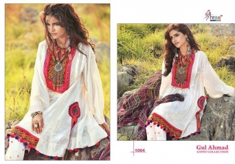 SHREE FABS GUL AHMED GYSPY COLLECTION WHOLESALE CATALOGUE PRICE 1004