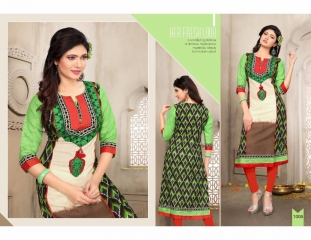 SWARN PRANKH MISS WORLD LAWN COTTON CASUAL WEAR KURTI COLLECTION WHOLESALE 1005