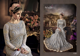 SYBELLA 101 SERIES PARTY WEAR DESIGNER COLLECTION WHOLESALE PRICE CATALOUGE 103 A