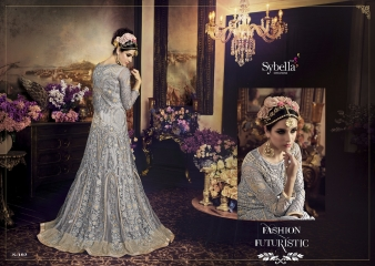 SYBELLA 101 SERIES PARTY WEAR DESIGNER COLLECTION WHOLESALE PRICE CATALOUGE 103 B