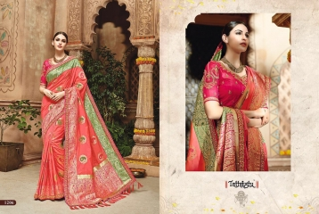 TATHASTU 1201 - 1222 SERIES DESIGNER TRADITIONAL WEAR SAREES 1206