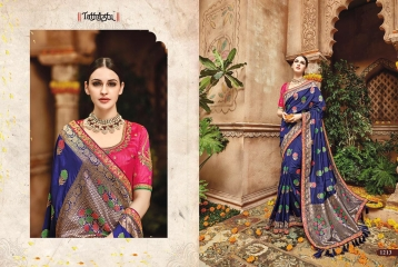 TATHASTU 1201 - 1222 SERIES DESIGNER TRADITIONAL WEAR SAREES 1213