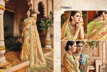 TATHASTU 1201 - 1222 SERIES DESIGNER TRADITIONAL WEAR SAREES 1220