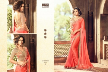 THE FASHION HUB DESIGNER SAREES WHOLESALE SURAT ONLINE 19005